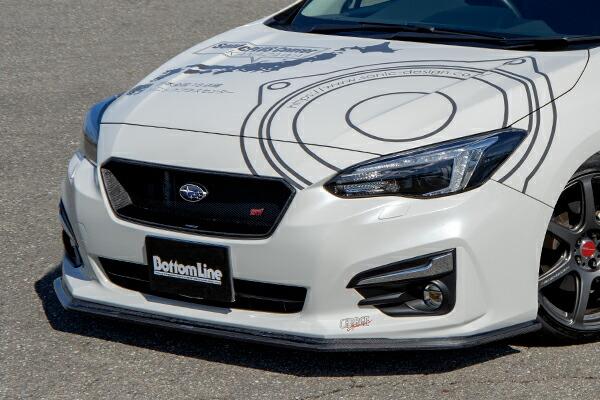 チャージスピード インプレッサスポーツ GT# A/B/C 5ドア フロントボトムライン カーボン CHARGE SPEED ボトムライン BottomLine