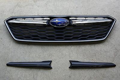 チャージスピード インプレッサスポーツ GT# A/B/C 5ドア グリルフィニッシャー 純正グリル用 カーボン CHARGE SPEED ボトムライン BottomLine
