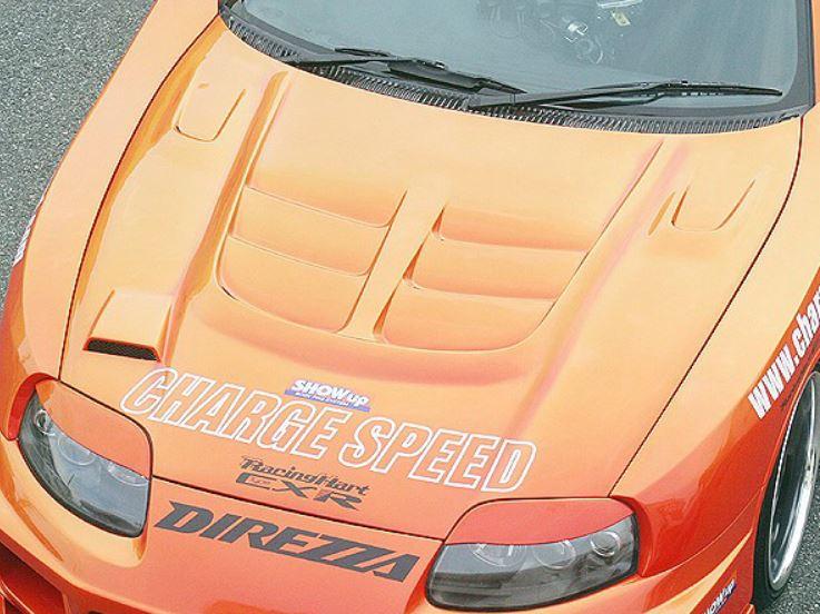 チャージスピード スープラ JZA80 ボンネットwith ダクト FRP CHARGE SPEED