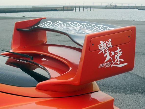 チャージスピード スープラ JZA80 スーパーGTウィング ウイング カーボン CHARGE SPEED