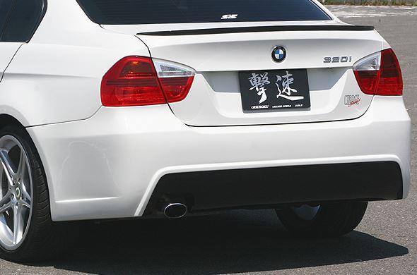 チャージスピード BMW E90 リアバンパー FRP CHARGE SPEED 撃速CHARGE SPEED 撃速チャージスピード