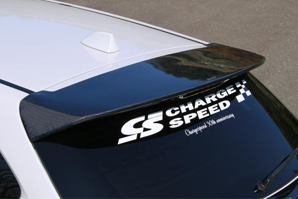 チャージスピード レヴォーグ VM 系 リアルーフスポイラー カーボン CHARGE SPEED BottomLine ボトムライン