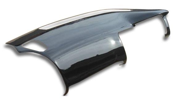 CHARGESPEED チャージスピード ダッシュボードカバー+エアーバッグカバー FRP 黒ゲル BCNR33