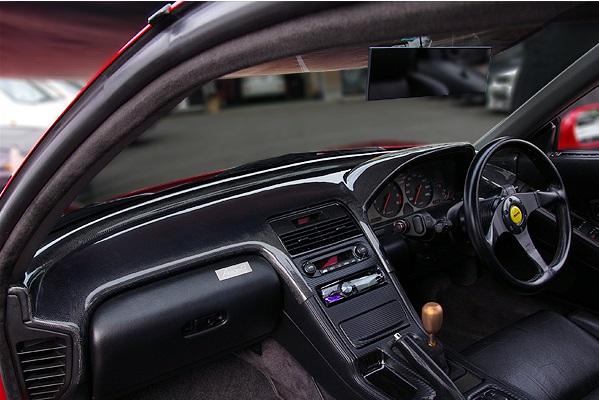 チャージスピード NSX NA1 ダッシュボードカバー FRP(黒ゲル) CHARGESPEED