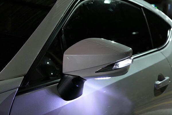 チャージスピード BRZ ZC6 LEDウインカー付ドアミラー ABS樹脂製 CHARGE SPEED BottomLine ボトムライン