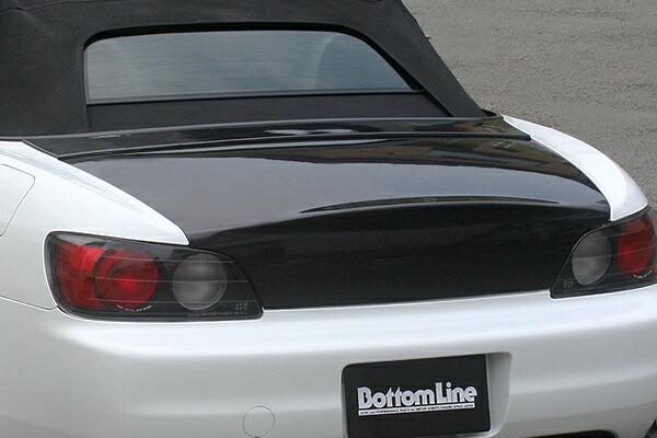 チャージスピード S2000 AP1 2 03/10~ 後期 トランク ストップランプ無 カーボン CHARGE SPEED ボトムライン BottomLine