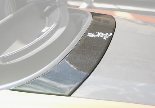 チャージスピード S2000 AP1 2 03/10~ 後期 トランクフロントパネル カーボン CHARGE SPEED ボトムライン BottomLine