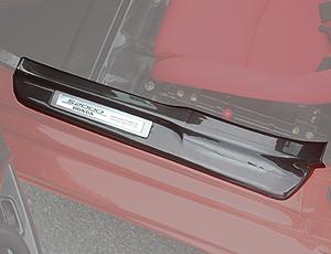 チャージスピード S2000 AP1 99/04~03/10 前期 ドアシルプレート カーボン CHARGE SPEED ボトムライン BottomLine