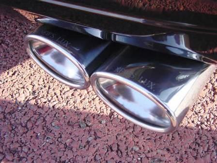 NEW'S DESIGN ニューズデザイン LUX.Line ラグライン LUX・マフラー ノア AZR60 AZR65