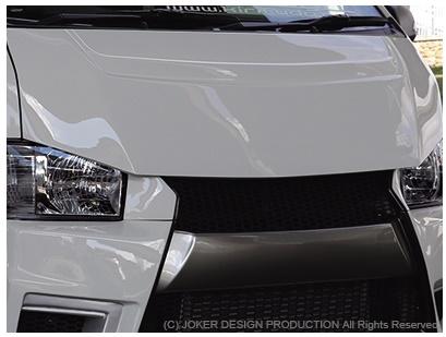 JOKER DESIGN ジョーカー デザイン ハイエース 200系 1~3型 標準 バッドスタイルボンネット 品番:NA-37
