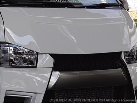 JOKER ワイルドルック仕様 品番:NA-37 標準 ジョーカー 200系 ハイエース バッドスタイルボンネット DESIGN デザイン 1・2・3・4型