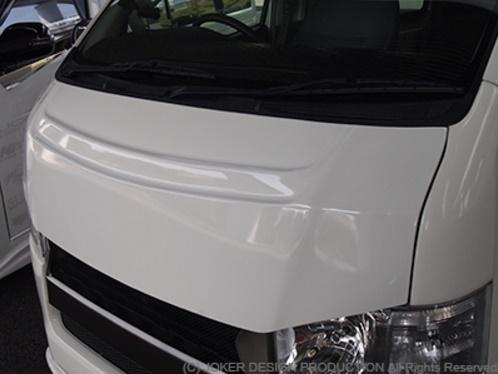 JOKER DESIGN ジョーカー デザイン ハイエース 200系 1・2・3・4型 標準 バッドスタイルボンネット 品番:NA-19