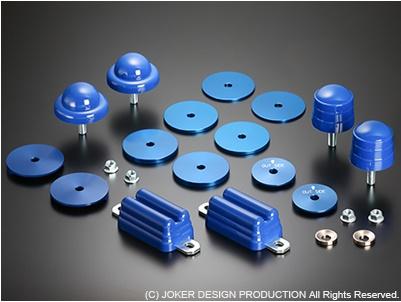 JOKER DESIGN ジョーカー デザイン ハイエース 200系 ストロークストッパー MAX/2WD用 品番:AS-17