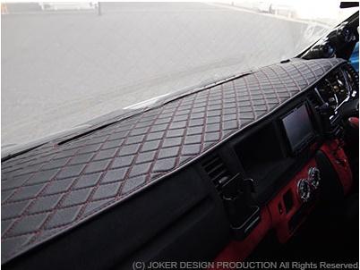 ジョーカー デザイン ハイエース 200系 標準 ダッシュマット 品番:IN-07 JOKER DESIGN