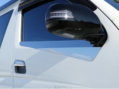 ジョーカー デザイン ハイエース 200系 ガライヤモール ウェザーストリップモール クローム 品番:EX-08 JOKER DESIGN