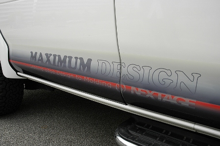 NEXTAGE ネクステージ MAXIMUM DESIGN マキシマムデザイン ロッカーパネルデカール デリカスペースギア