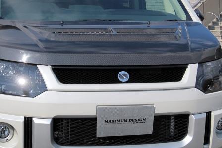 NEXTAGE ネクステージ MAXIMUM DESIGN マキシマムデザイン フロントグリル 未塗装 デリカD5