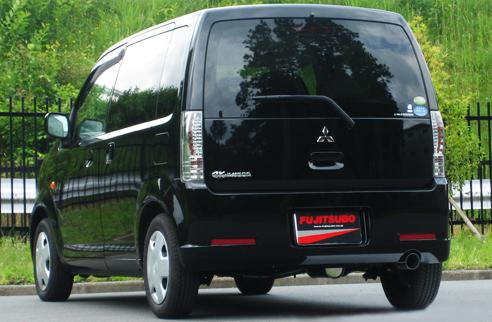 フジツボ eKワゴン DBA-H82W マフラー AUTHORIZE K オーソライズK FUJITSUBO 750-30221 個人宅発送追金有