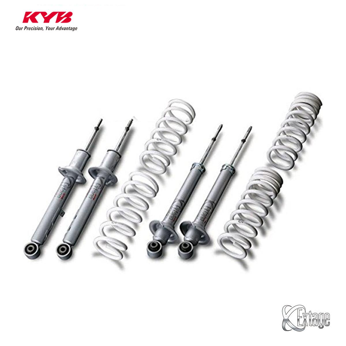 KYB カヤバ プリウス ZVW30 ショックアブソーバー サスペンションキット 1台分 エクステージ キット Extage EKIT-ZVW305