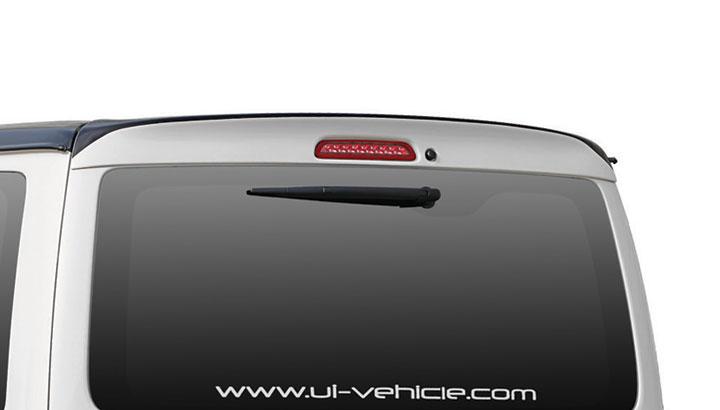 ユーアイビークル ハイエース 200系 1型 2型 3型 4型 標準 ナロー リアルーフスポイラー 未塗装 UI-vehicle ユーアイ