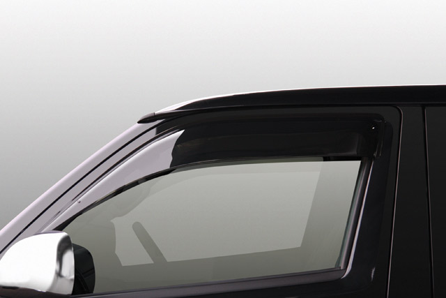 UI-vehicle 高級な ユーアイビークル ハイエース 200系 ワイドバイザー お買い得品 個人宅発送不可 ユーアイ