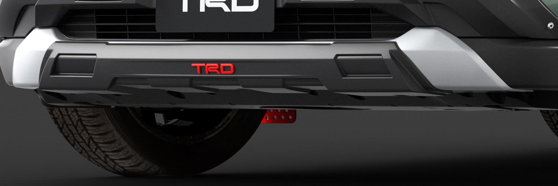 TRD RAV4 MXAA52 MXAA54 フロントロアガーニッシュ MS348-42001 配送先条件有り
