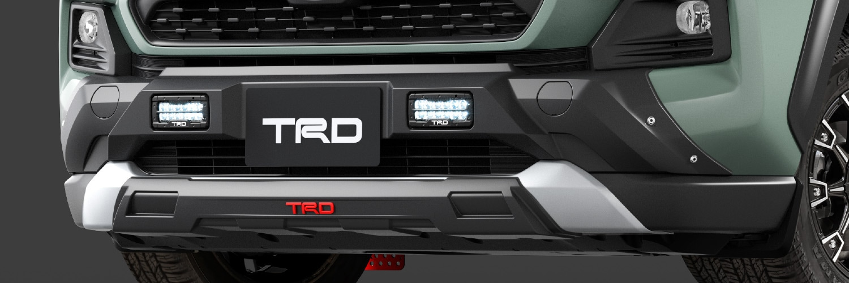 TRD RAV4 MXAA52 MXAA54 フロントバンパーガーニッシュ LED付 ICS付車 MS341-42001 配送先条件有り
