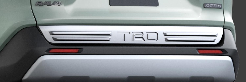 TRD RAV4 MXAA52 MXAA54 バックドアロアガーニッシュ MS316-42003 配送先条件有り