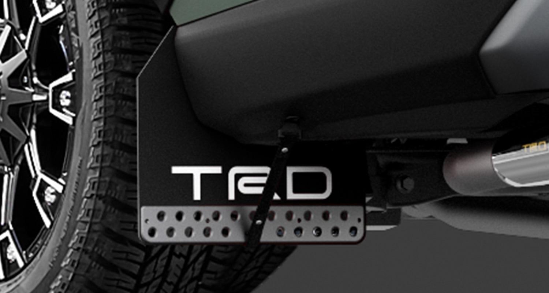 TRD RAV4 MXAA52 MXAA54 マッドフラップ ブラック MS328-42002 配送先条件有り