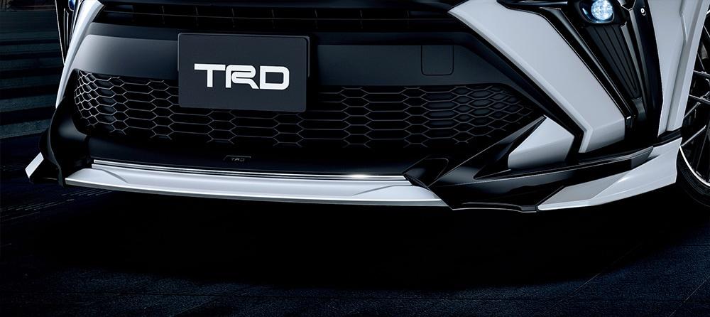 TRD C-HR 1#系 5#系 フロントスポイラー LEDなし ICS&PVM付車用 未塗装 MS341-10009-NP 配送先条件有り