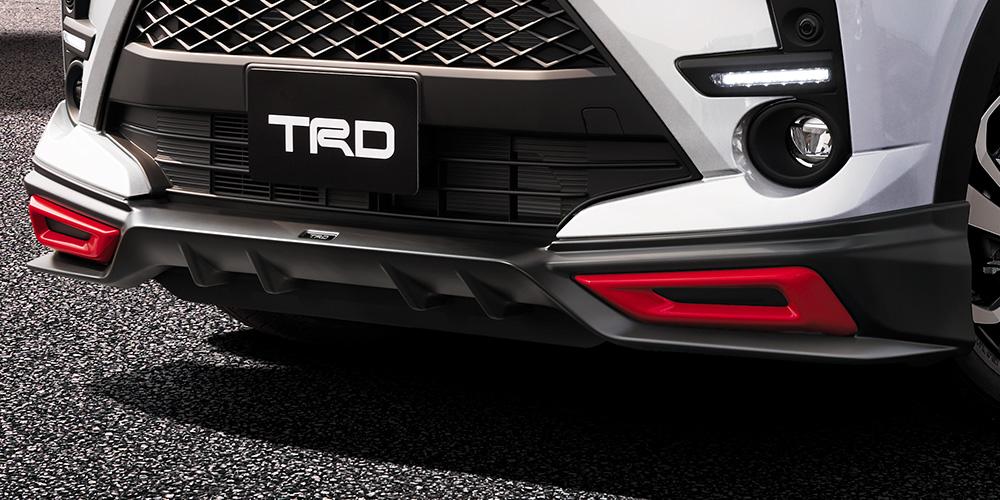 TRD ライズ A200A A210A フロントスポイラー パノラミックビュー無車、XS MS341 - B1017 配送先条件有り