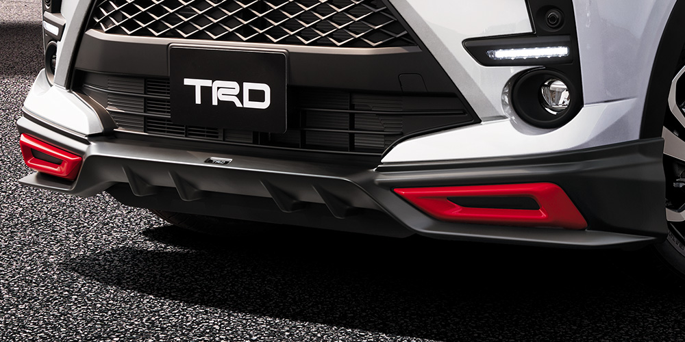 TRD ライズ A200A A210A フロントスポイラー パノラミックビュー付車 MS341 - B1017 配送先条件有り