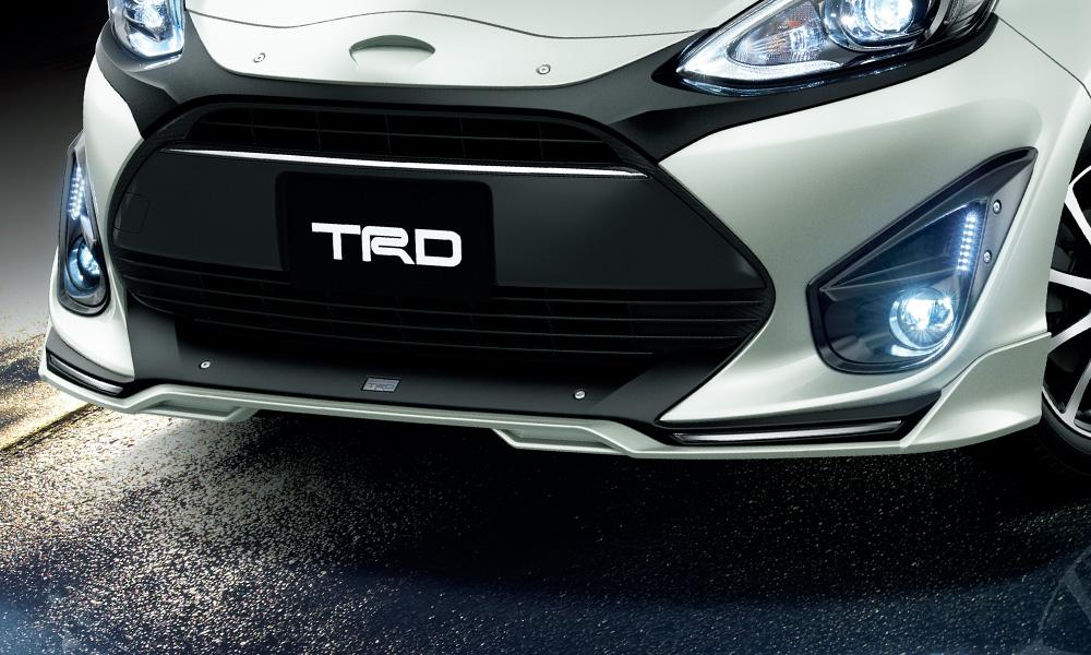 TRD アクア NHP10 系 フロントスポイラー 塗装済 MS341-52022 配送先条件有り