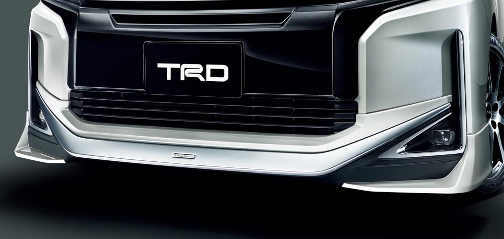 TRD ヴォクシー 80 系 フロントスポイラー LEDなし 塗装済 MS341-28046 配送先条件有り