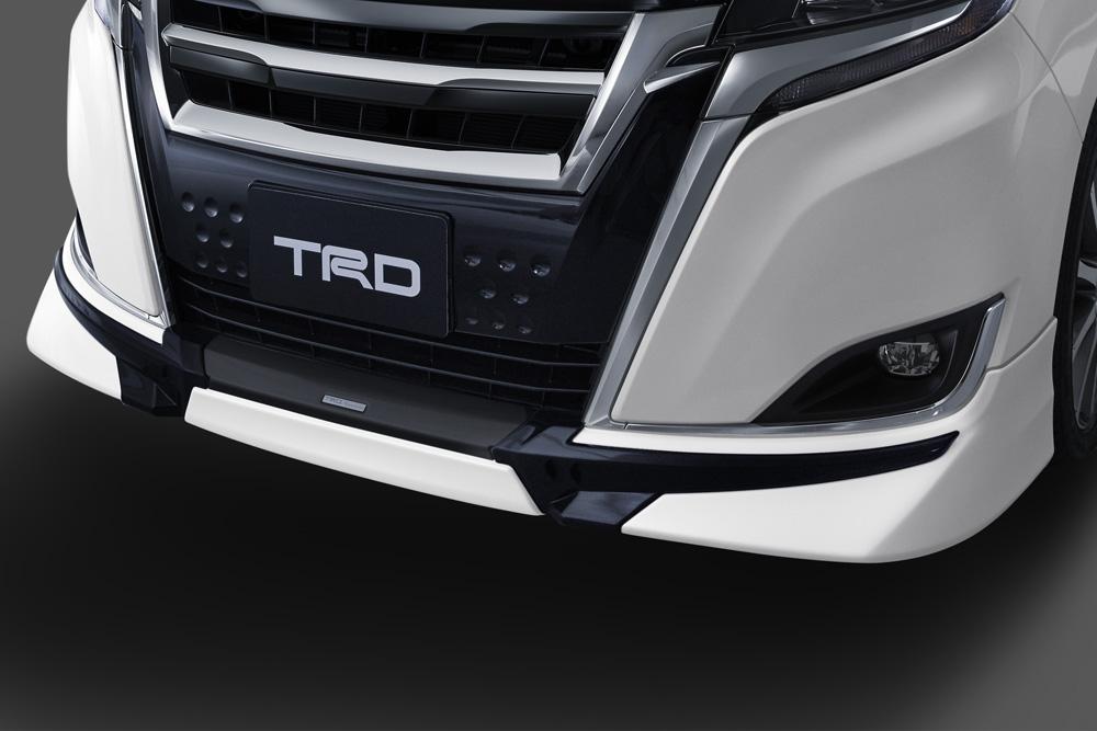 TRD エスクァイア ESQUIRE 8# 系 2017.7~ フロントスポイラー LEDなし 未塗装 品番: MS341-28053-NP ティーアールディー