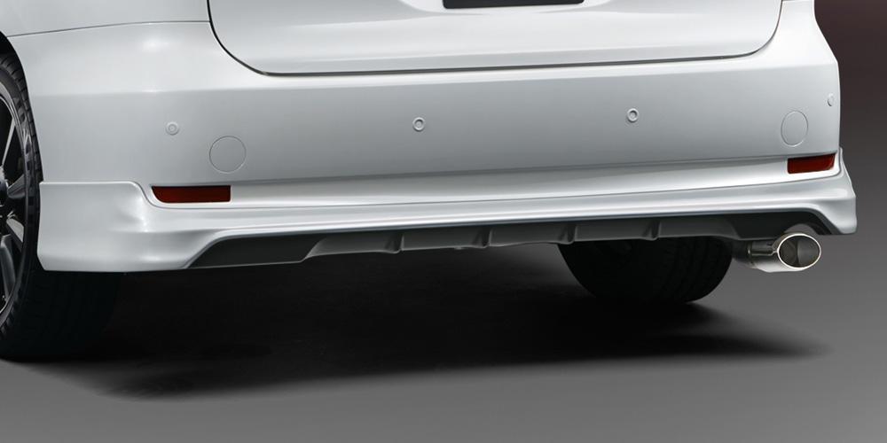 TRD エスティマハイブリッド 50系 リヤバンパースポイラー 未塗装 MS313-28010-NP 配送先条件有り