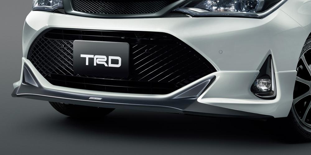 TRD カローラ フィールダー 160 系 フロントスポイラー LEDなし 未塗装 MS341-12044-NP 配送先条件有り