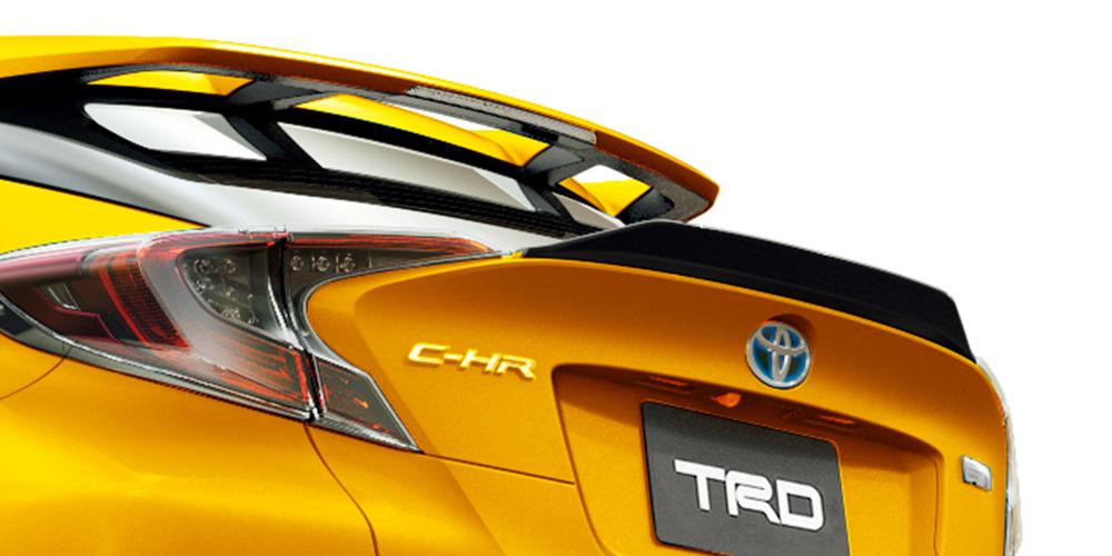 TRD C-HR NGX10 NGX50 ZYX10 リヤトランクスポイラー MS342-10003 配送先条件有り