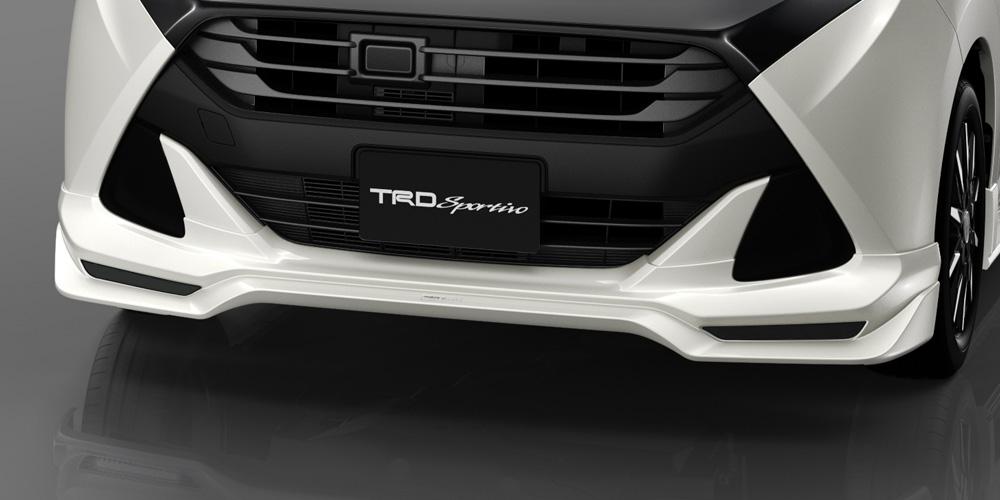 TRD タンク 900 系 フロントスポイラー LEDなし 未塗装 MS341-B1015-NP 配送先条件有り