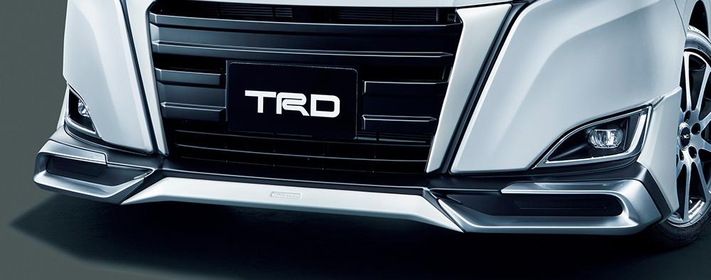 TRD ノア 80 系 フロントスポイラー LEDなし 未塗装 MS341-28041-NP 配送先条件有り