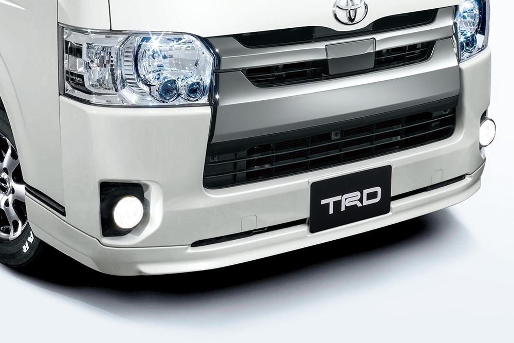 TRD ハイエース 200系 KDH200 211 220 GDH200 211 220 TRH200 210 220 フロントスポイラー 塗装済 MS341-26001