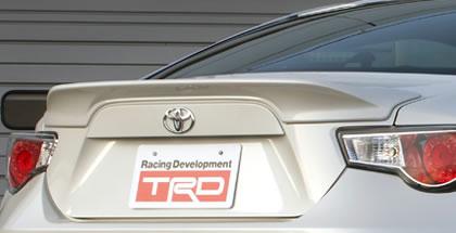 TRD 86 ハチロク ZN6 前期 リヤトランクスポイラー 未塗装 MS342-18002-00 配送先条件有り