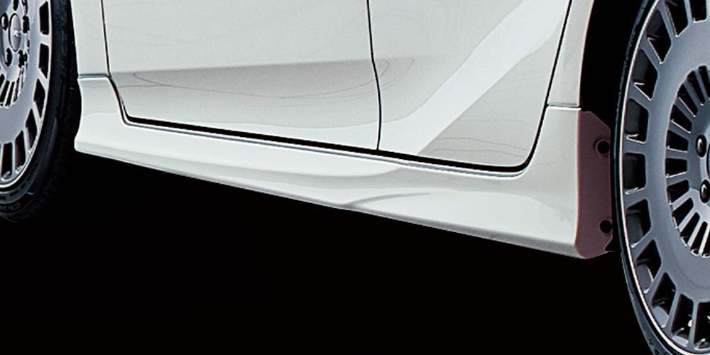TRD プリウスPHV 50系 ZVW50 サイドスカート 塗装済 MS344-47006 配送先条件有り