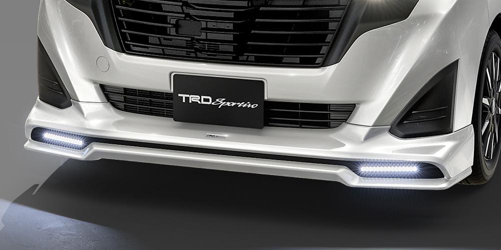 TRD ルーミー 900系 フロントスポイラー LED付 塗装済 MS341-B1008