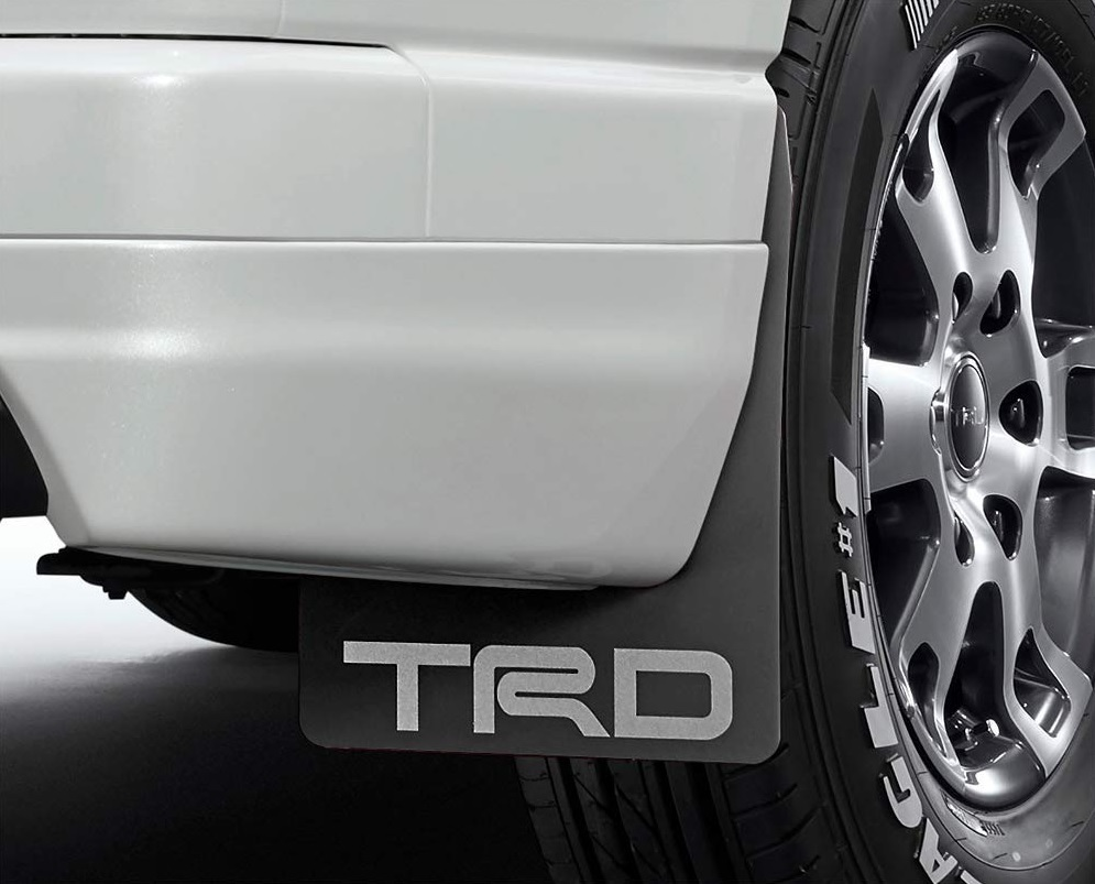 TRD レジアスエース 200系 KDH200 211 220/GDH200 211 220/TRH200 210 220 マッドフラップ MS328-26002 配送先条件有り