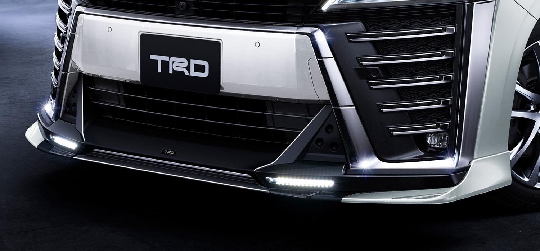 TRD ヴェルファイア エアロボディ フロントスポイラー LED付 塗装済 3#系 AGH30W AGH35W GGH30W GGH35W AYH30W 除くT-Connect SDナビゲーションシステム、デジタルインナーミラー付車 MS341-58023