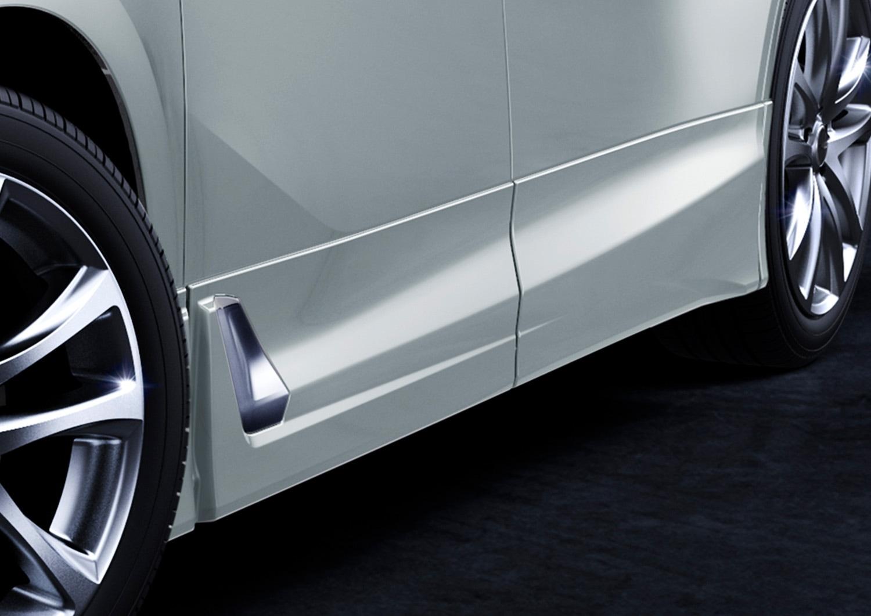 TRD ヴェルファイア エアロボディ サイドスカート 未塗装 3#系 AGH30W AGH35W GGH30W GGH35W AYH30W ZR Z Gエディション Aエディション サイドリフトアップチルトシート装着車 /ZG MS344-58006-NP