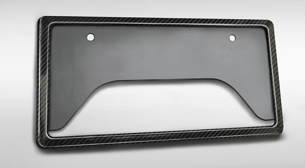 TRD 86 ハチロク ZN6 GRカーボンナンバーフレーム リヤ用 MS371-00002 配送先条件有り