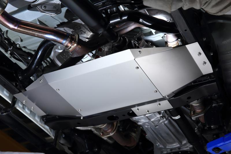 JAOS ジャオス ランドクルーザー ランクル 70系 14.08~15.07 トランスファーガード B270241A 配送先条件有り