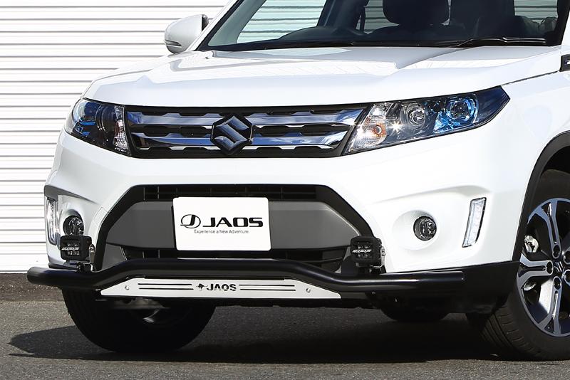 JAOS ジャオス エスクード Y#21S系 15.10~18.10 フロントスキッドバー ブラック/ブラスト B150506C 配送先条件有り